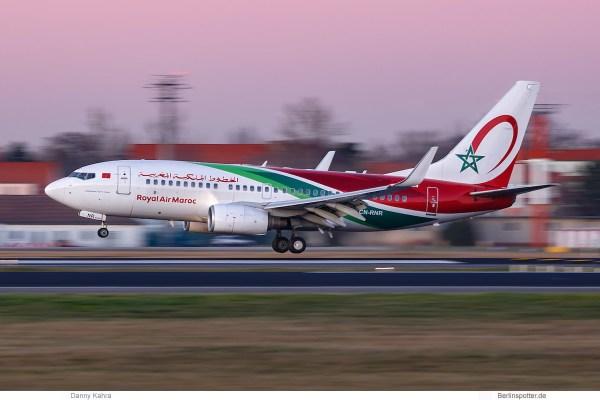 Royal Air Maroc, Boeing 737-700(WL) CN-RNR (TXL 2.1.2020)