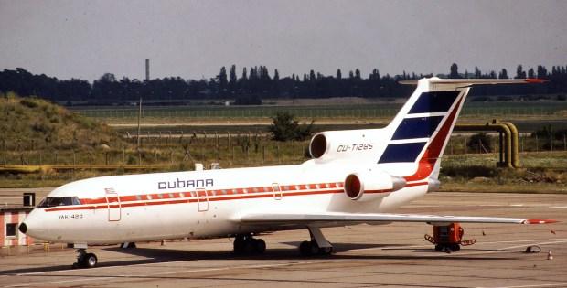 Cubana, Yakovlev Yak-42D CU-T1285 (SXF ca. 1991)