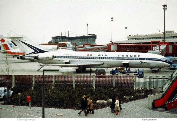 Air France, Boeing 727-200 F-BPJJ (TXL 10.4.1977)