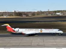 Air Nostrum – Iberia Regional, Bombardier CRJ1000 EC-MXA (TXL 5.2.2020)