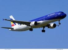 Air Moldova, Airbus A321-200 ER-AXR (SXF 18.4.2020)