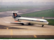 BEA British European Airways, HS.121 Trident 3 G-AWZG (THF)