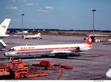 Balair, McDonnell-Douglas MD-83 HB-ISZ (SXF 26.8.1990)