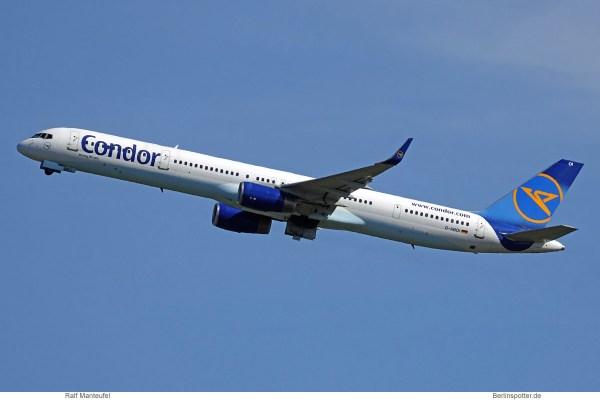 Condor, Boeing 757-300(WL) D-ABOI (SXF 13.7.2020)