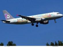 Sundair, Airbus A320-200 D-ANNA, Katta macht Urlaub (TXL 1.8.2020)