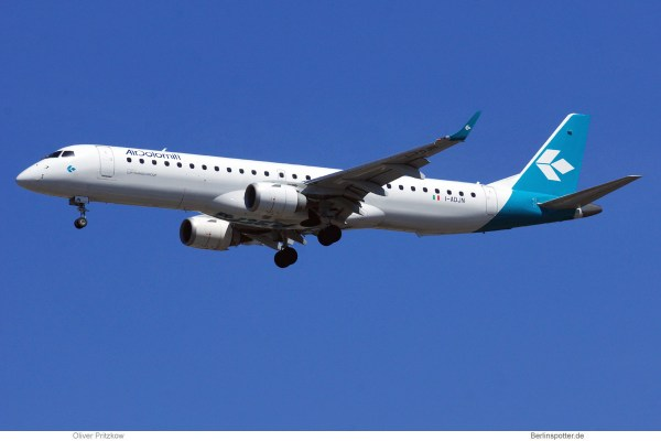 Air Dolomiti, Embraer 195 I-ADJN (TXL 30.7.2020)
