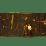 Frank Paul (DE) - An diesem Ort der keiner ist - 30 x 92 x 13 cm