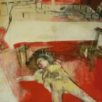 Heike Ruschmeyer - Mittags 2v4 - 120 x 160 cm