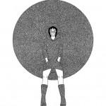 Yumie Yamakawa (JP), Monster-Personal space - 2014 - 30x40 cm