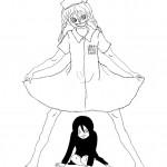 Yumie Yamakawa (JP) Play-Doctors and nurses - 30x40 cm