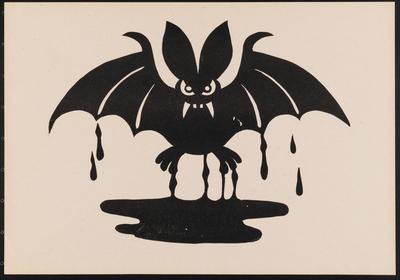 Samunshi Wandtattoo Fledermaus Motiv 1 In 8 Grossen Und 25 Farben
