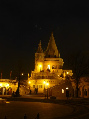 The Fishermen's Bastions -- all 7 of them to represent the 7 founding tripe of Buda and Pest!