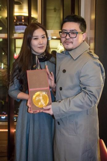 Song Sujueng and Na Young-kil