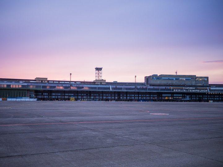 best places to run in berlin Tempelhofer Feld
