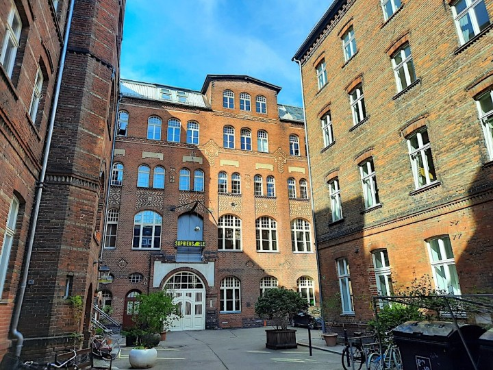 central berlin courtyards