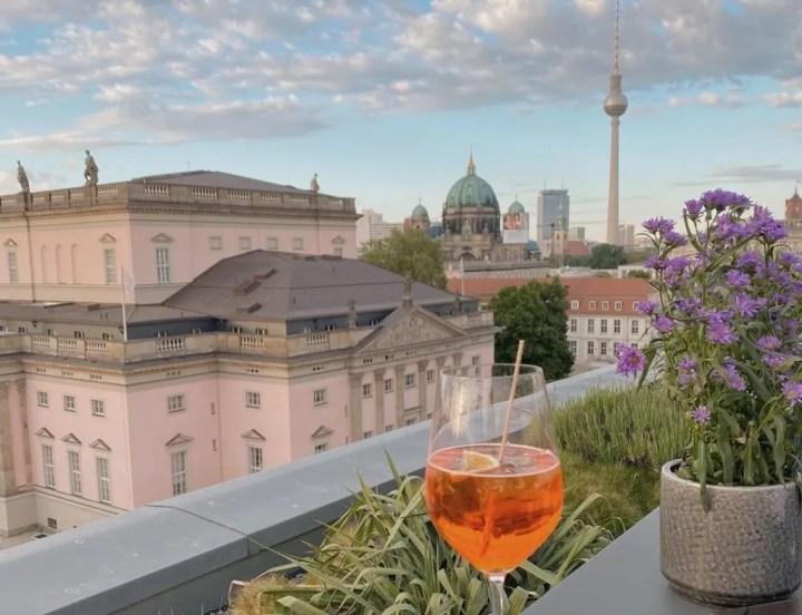 berlin rooftop bars hotel de Rome
