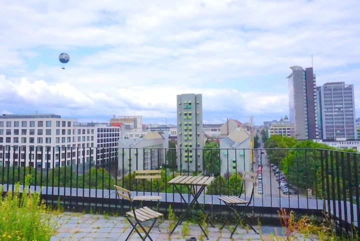 Berlin rooftop cafe nullpunkt