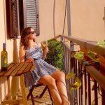 Hotel Gregoriana balcony
