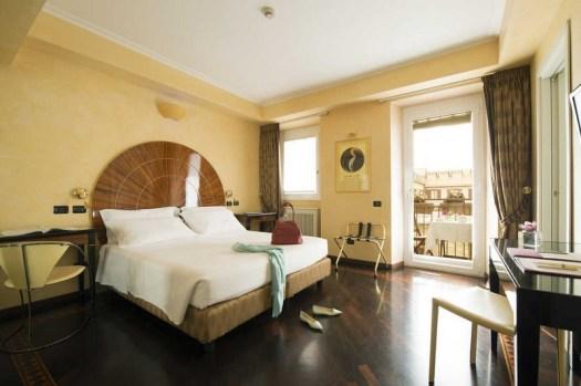 Hotel Gregoriana's deluxe double room