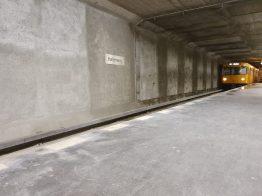 Berlin U-Bahn Halemweg