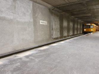 Berlin BVG U-Bahn Halemweg (vor Sanierung)