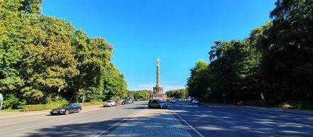 Berlin Tiergarten 17. Juni Siegessäule