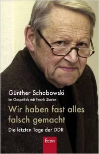 Bøger og Biografier om Berlinmurens fald - Günther Schabowski