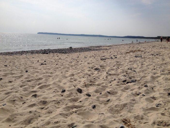 Rügen ved Østersøen
