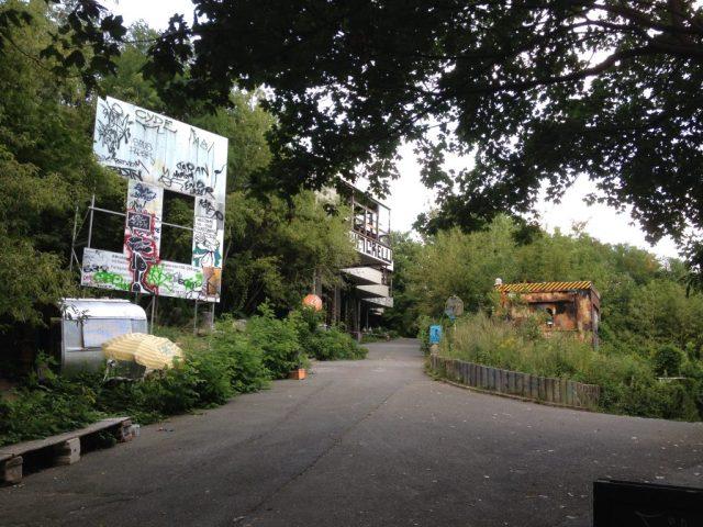 Teufelsberg - nedlagt amerikansk lyttepost og fedt grafitti galleri