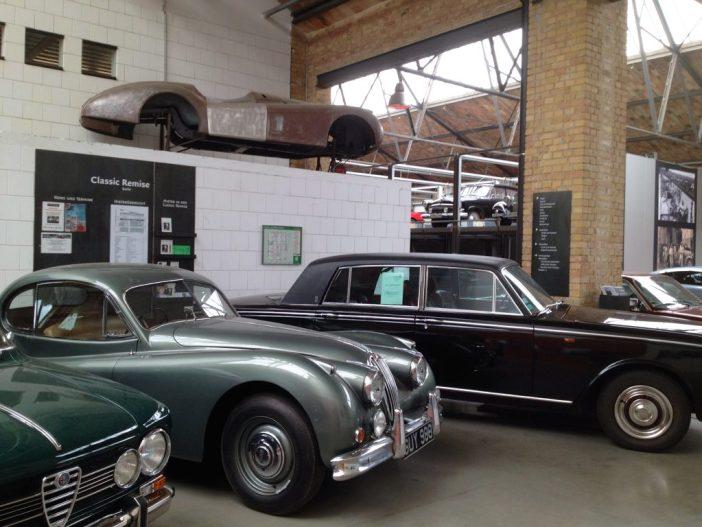 Klassiske biler i Moabit