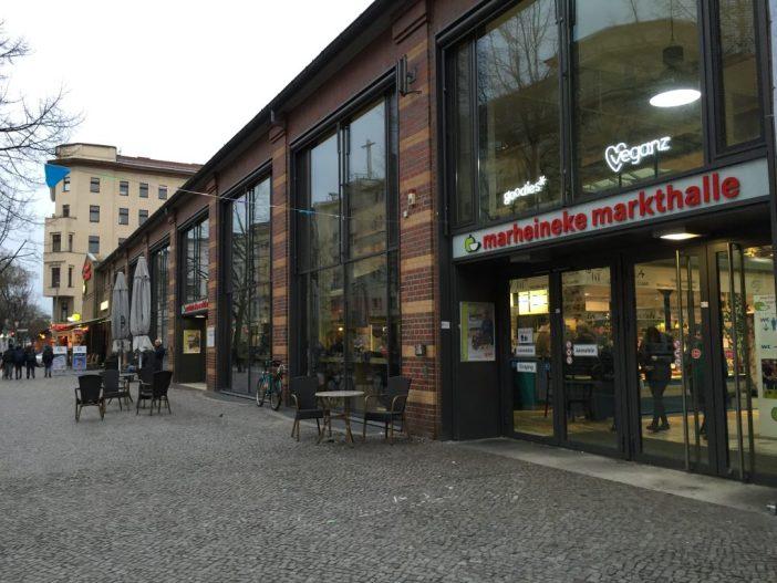 Markheineke Markthalle. Markthalle - Berlins torvehaller med madmarkeder og street food