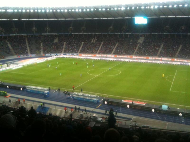 Charlottenburg - Se en fodboldkamp på Olympia Stadion