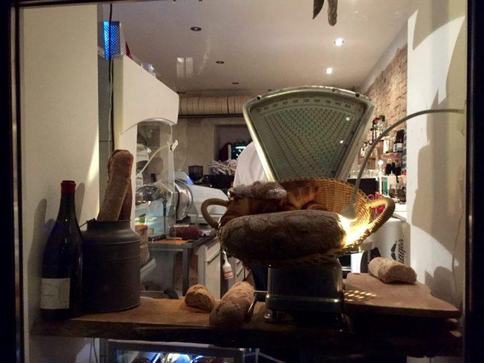 Fransk vinbar ved Rote Insel