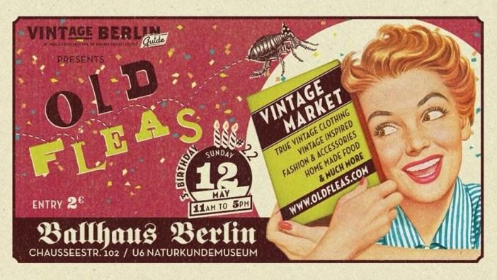 Old Fleas Vintage Market Ballhaus Berlin