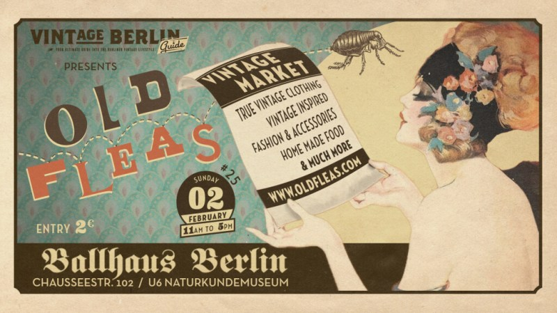 Old Fleas Vintage Market Berlin Februar 2020