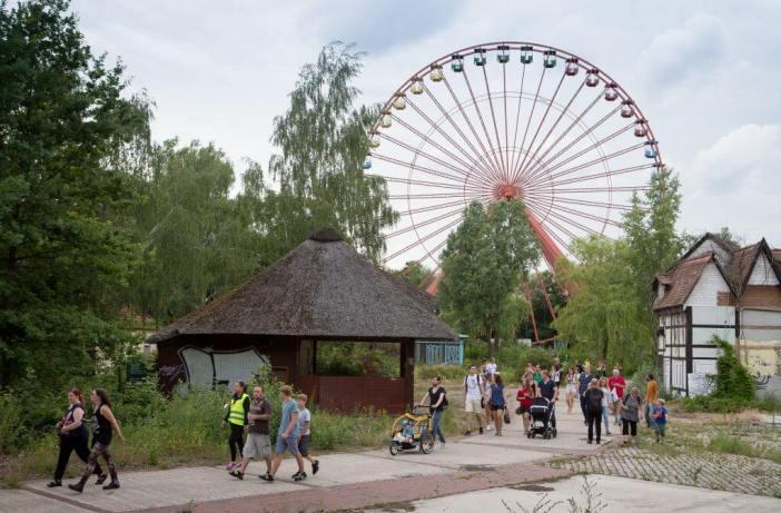 Den forladte forlystelsespark Spreepark - abandoned places Berlin