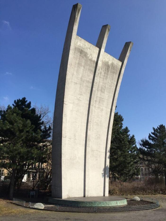Platz der Luftbrücke - Blokaden af Berlin