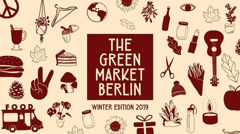 The Green Market Berlin Veganer marked i Berlin