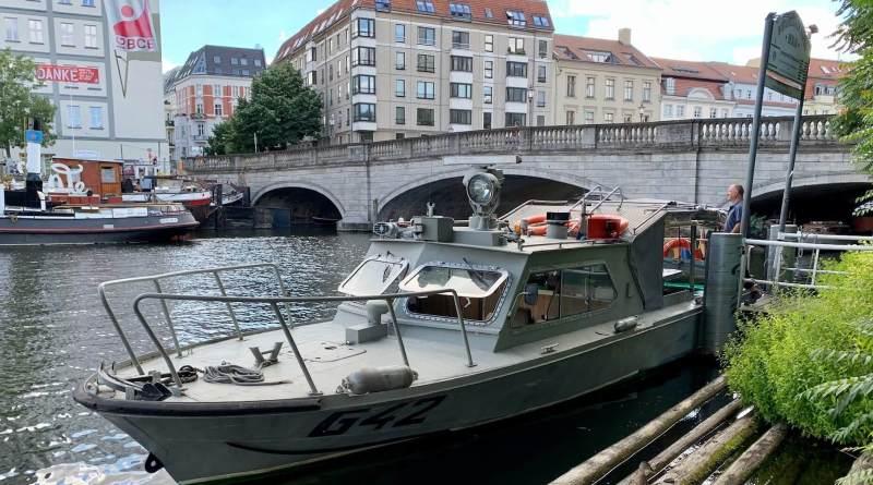 DDR Grenzboot G42 Berlin