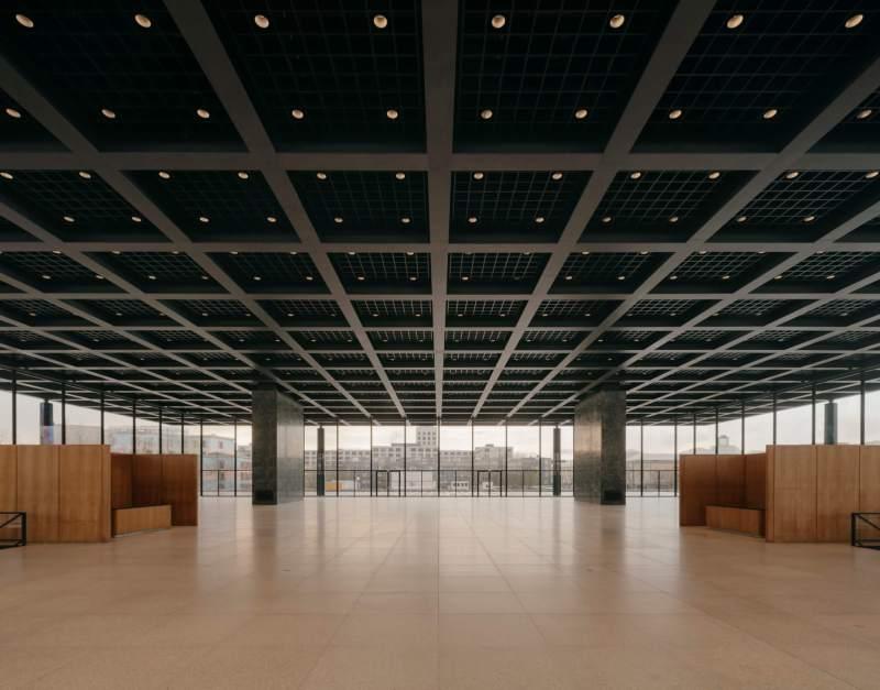 Åbent hus i Neue Nationalgalerie
