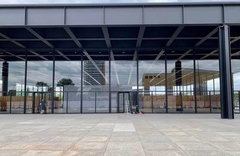Neue Nationalgalerie - Berlinblog.dk