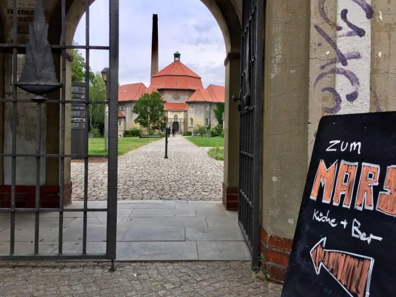 Mars på Krematorie i Wedding - Berlinblog.dk