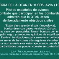 Pablemos se postra a los pies de la banda terrorista OTAN