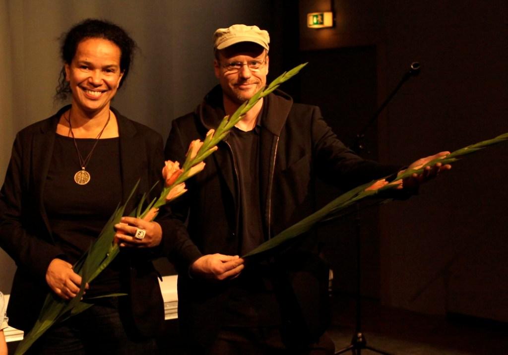 Suzanne Hensel, Carsten Schneider. Foto: Tim Zülch