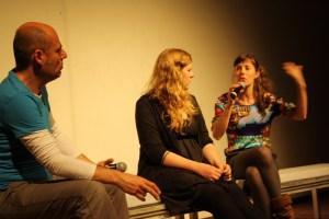 Giuseppe Maio, Elena Zieser. Maria Antonia Schmidt. Bild Joel Vogel.