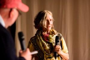 Karin Tarabochia alias Augenmerk. Bild: Golo Föllmer.