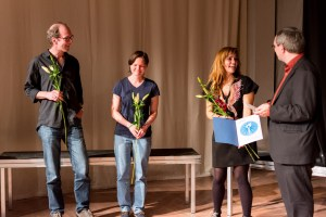 Tom Heithoff, Silvia Plail, Natascha Gangl, Jochen Meißner. Bild: Golo Föllmer.