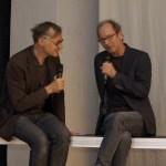 Moderator Hermann Bohlen, Autor Tom Heithoff. Bild: Tim Zülch.