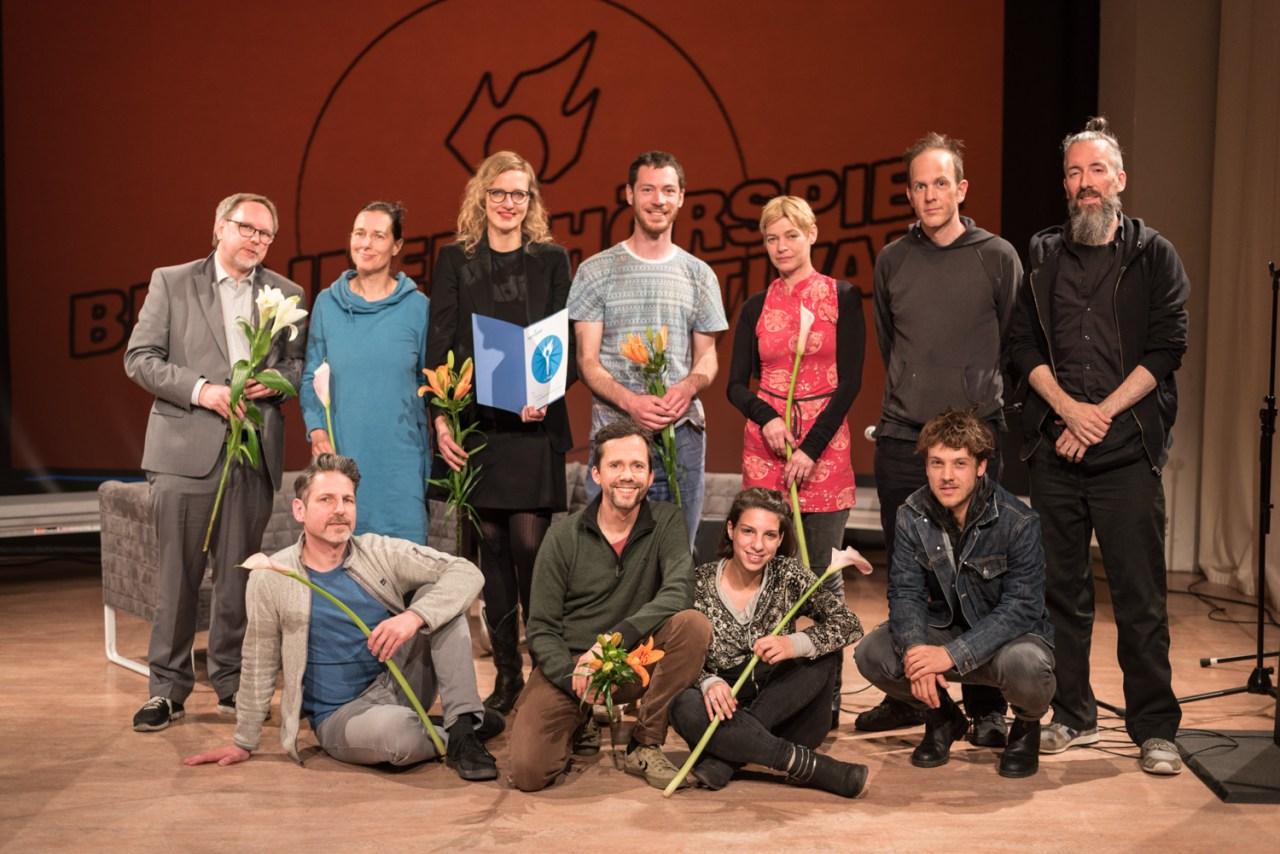 BHF 2019 Team und Preisträger. Bild: Golo Föllmer.