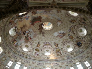 Die Kuppel der Basilika.